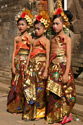 Traditionally dressed children, festive sarongs and endearing little faces