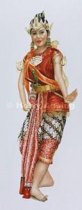 Java, court dancer