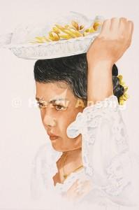 Portrait of Santi